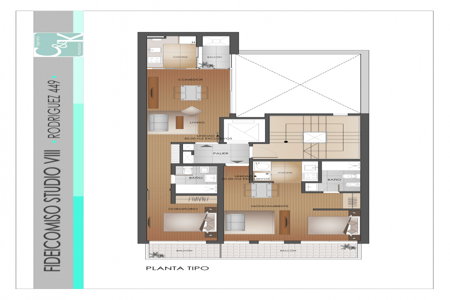 Santa Fe,1 Dormitorio Habitaciones,1 BañoBaños,Departamentos,Rodriguez,3,1156