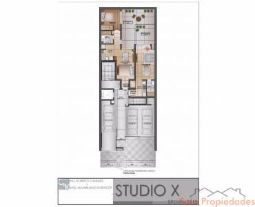 Rosario,Santa Fe,1 BañoBaños,Departamentos,Studio X,Brown,1532