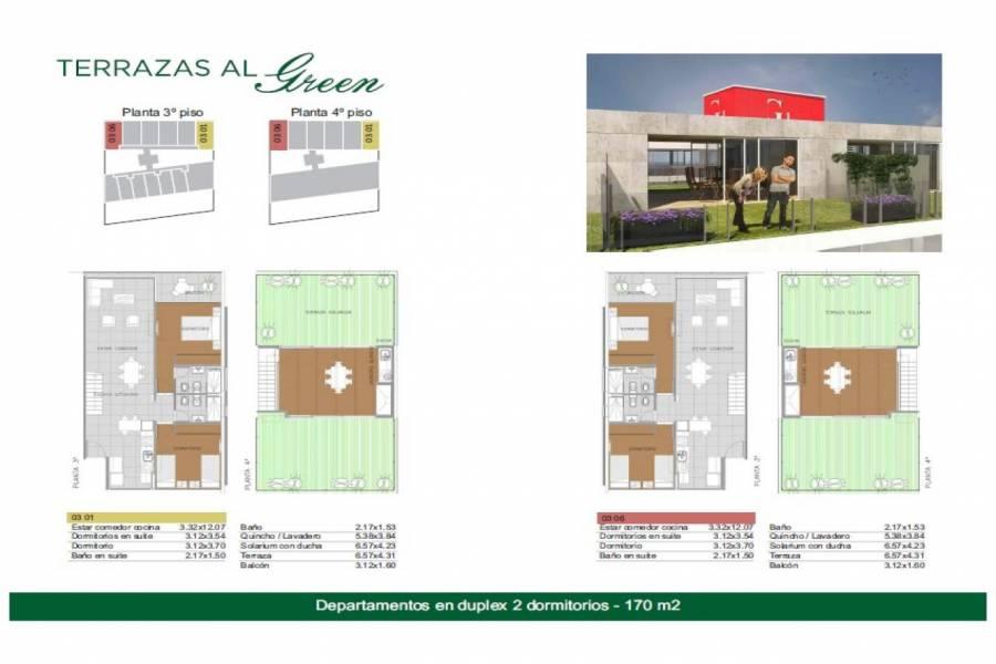 Rosario,Santa Fe,1 Dormitorio Habitaciones,1 BañoBaños,Departamentos,Torre Green Norte,Av. Eva Peron,2,1551