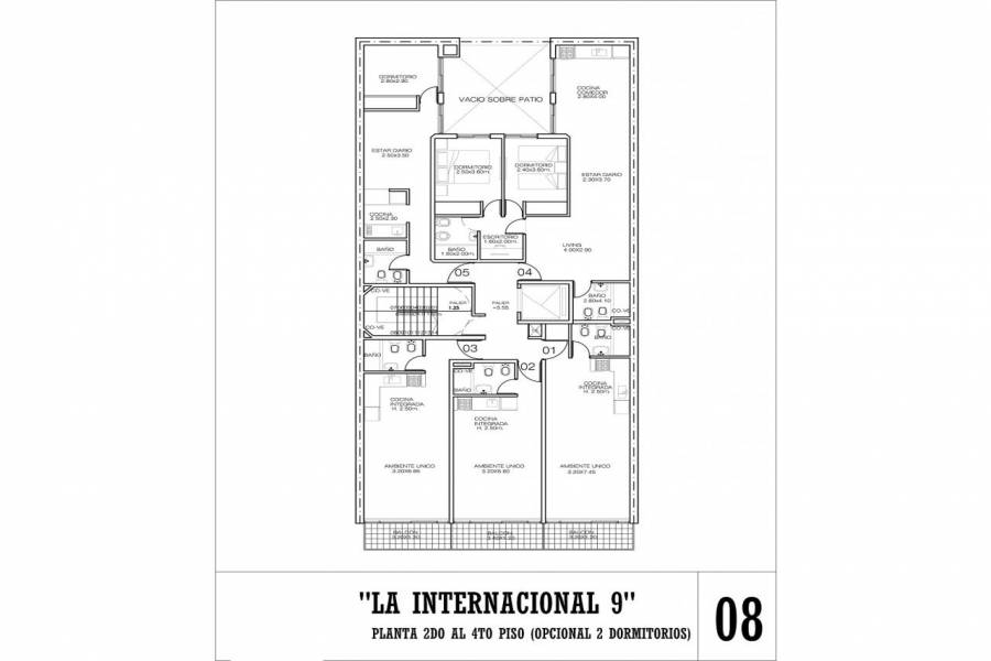 Rosario,Santa Fe,1 Dormitorio Habitaciones,1 BañoBaños,Departamentos,La Internacional 9,Jujuy,3,1563