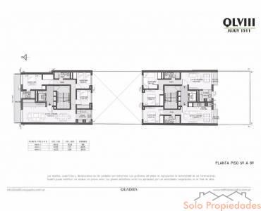 Rosario,Santa Fe,2 Habitaciones Habitaciones,1 BañoBaños,Departamentos,Quadra LVIII,Jujuy,3,1603