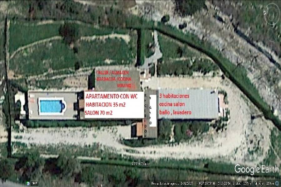 Cervera del Maestre,Castellón,España,5 Habitaciones Habitaciones,4 BañosBaños,Chacras-Quintas,1695