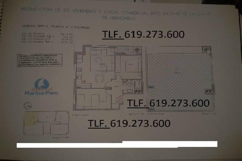 Benicarló,Castellón,España,2 Habitaciones Habitaciones,1 BañoBaños,Apartamentos,1745