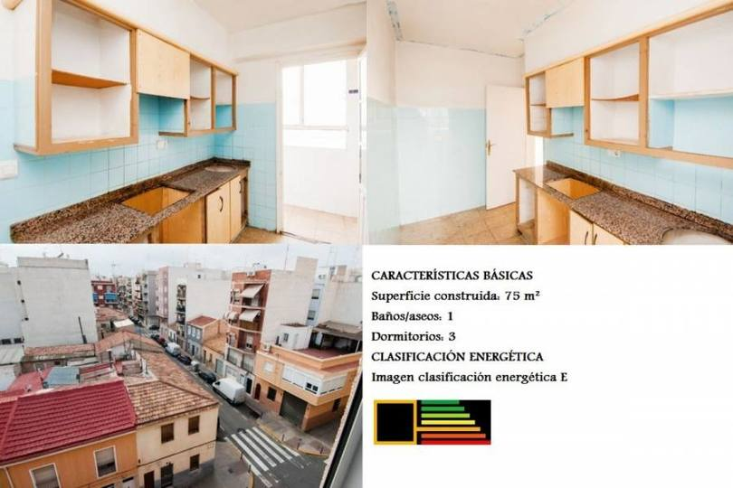 Elche,Alicante,España,3 Bedrooms Bedrooms,1 BañoBathrooms,Pisos,11889