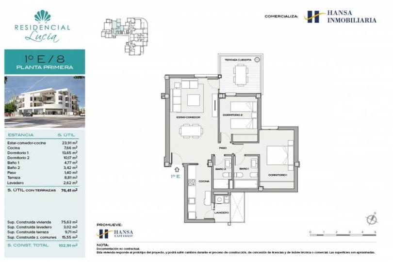 San Juan playa,Alicante,España,2 Bedrooms Bedrooms,2 BathroomsBathrooms,Pisos,12206