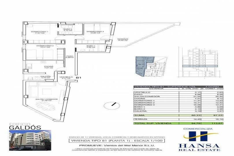 Alicante,Alicante,España,3 Bedrooms Bedrooms,2 BathroomsBathrooms,Pisos,12222