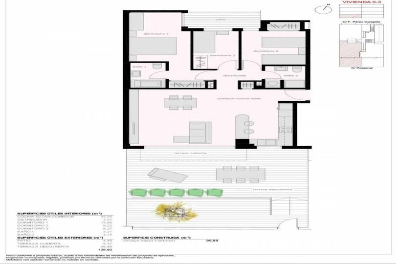 Elche,Alicante,España,3 Bedrooms Bedrooms,2 BathroomsBathrooms,Pisos,12299
