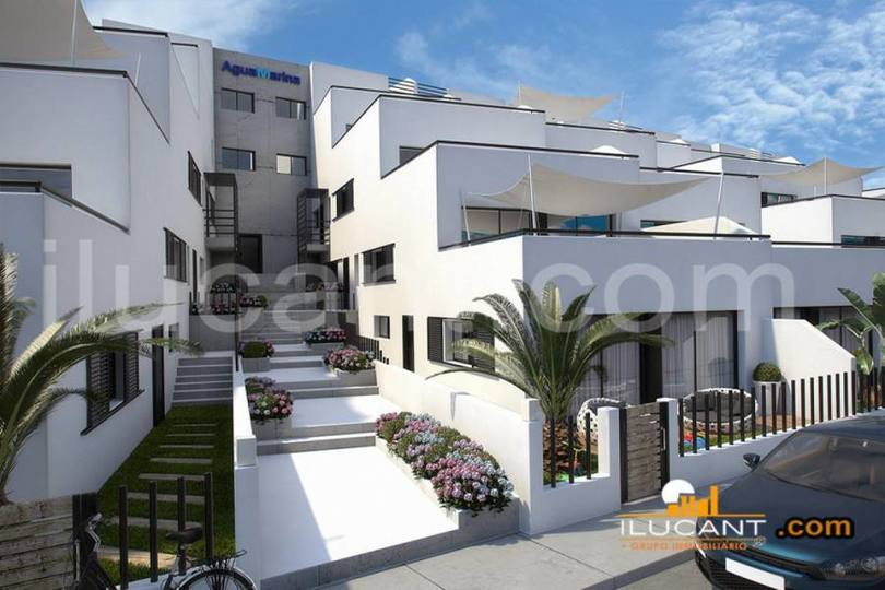 Gran alacant,Alicante,España,1 Dormitorio Bedrooms,1 BañoBathrooms,Pisos,14236