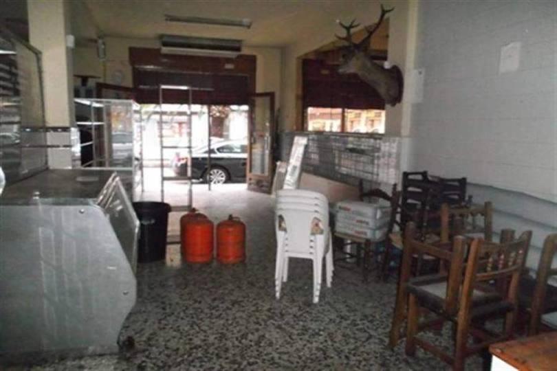 Dénia,Alicante,España,1 BañoBathrooms,Local comercial,15121