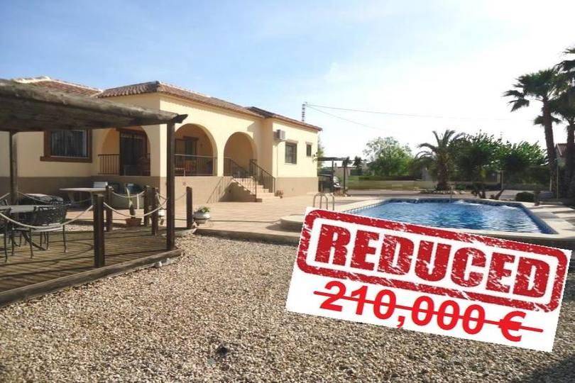 Catral,Alicante,España,3 Habitaciones Habitaciones,2 BañosBaños,Fincas-Villas,2275
