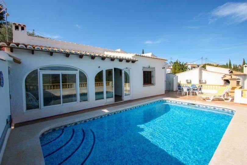 Sanet y Negrals,Alicante,España,3 Bedrooms Bedrooms,1 BañoBathrooms,Chalets,16747