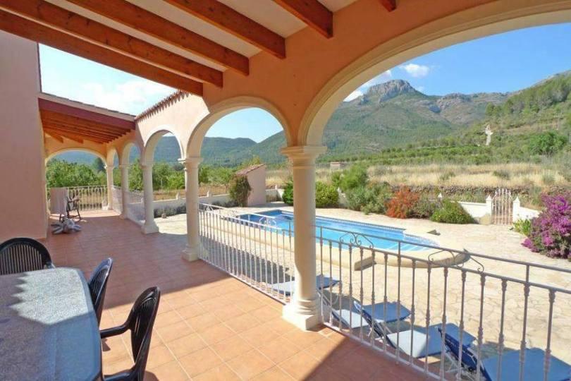 Parcent,Alicante,España,3 Bedrooms Bedrooms,2 BathroomsBathrooms,Chalets,16877