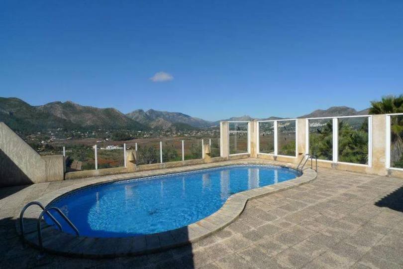 Llíber,Alicante,España,3 Bedrooms Bedrooms,2 BathroomsBathrooms,Chalets,16909