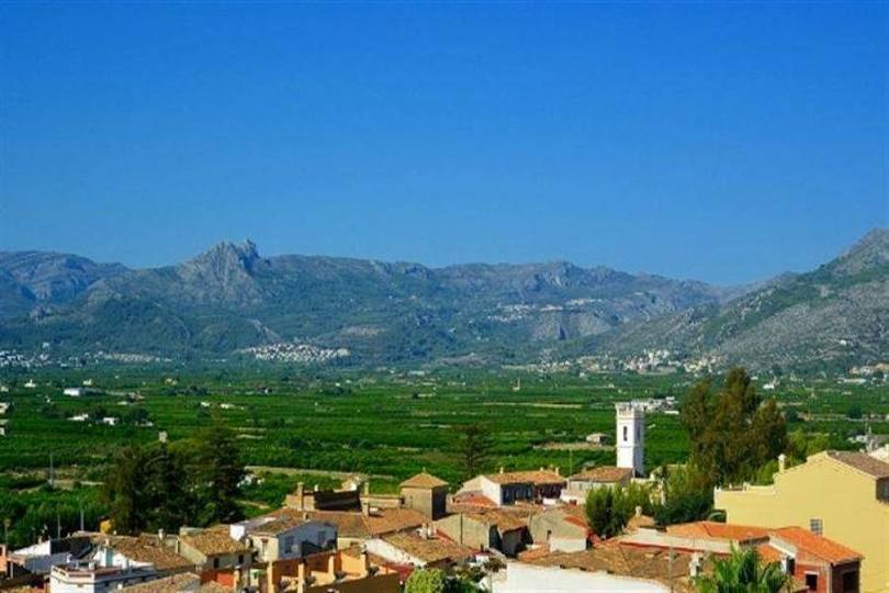Sanet y Negrals,Alicante,España,3 Bedrooms Bedrooms,2 BathroomsBathrooms,Chalets,17084