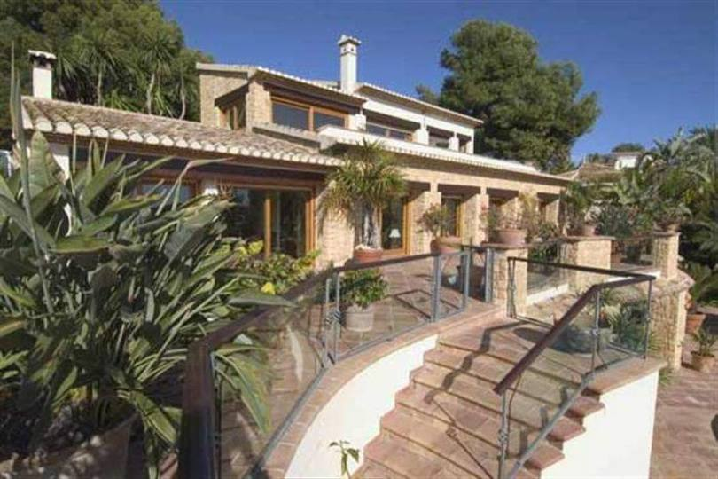 Moraira,Alicante,España,5 Bedrooms Bedrooms,6 BathroomsBathrooms,Chalets,17137