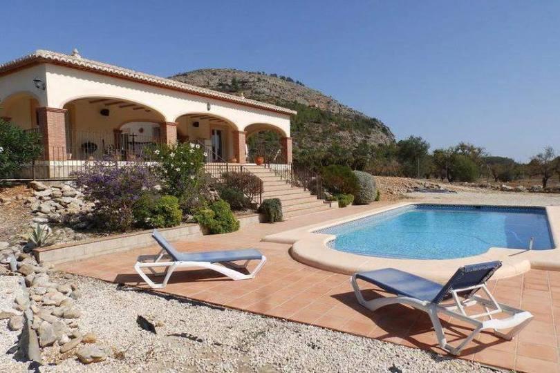 Murla,Alicante,España,3 Bedrooms Bedrooms,2 BathroomsBathrooms,Chalets,17167