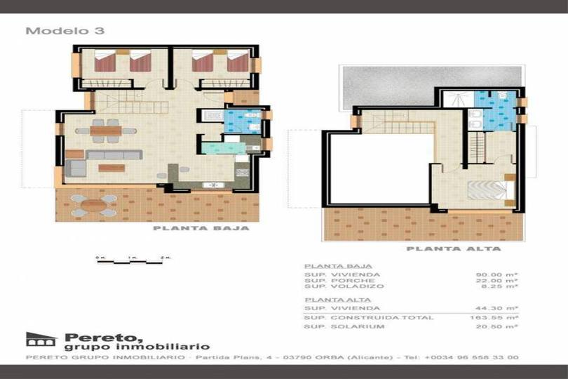 Tormos,Alicante,España,3 Bedrooms Bedrooms,2 BathroomsBathrooms,Chalets,17177