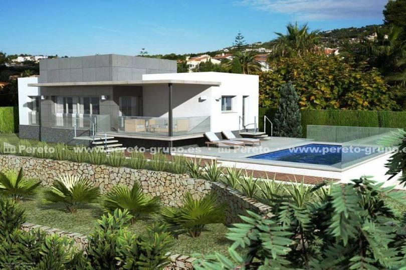 Orba,Alicante,España,3 Bedrooms Bedrooms,2 BathroomsBathrooms,Chalets,17179