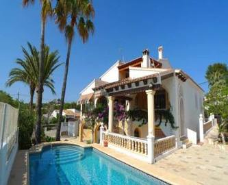 Moraira,Alicante,España,7 Bedrooms Bedrooms,3 BathroomsBathrooms,Chalets,17180