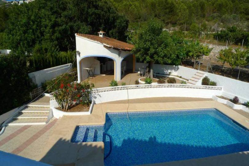 Moraira,Alicante,España,4 Bedrooms Bedrooms,2 BathroomsBathrooms,Chalets,17181
