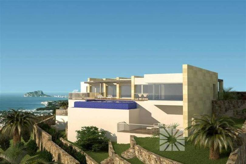 Benitachell,Alicante,España,5 Bedrooms Bedrooms,4 BathroomsBathrooms,Chalets,17234
