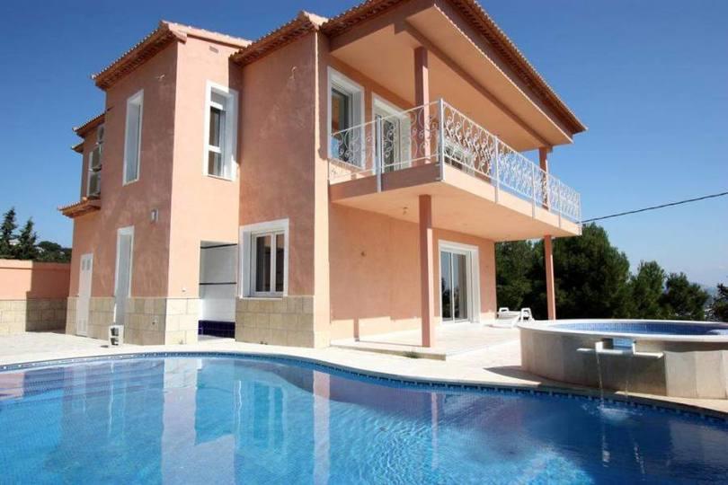 Calpe,Alicante,España,3 Bedrooms Bedrooms,4 BathroomsBathrooms,Chalets,17257