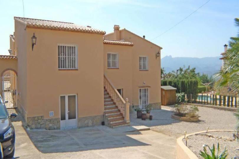 Sanet y Negrals,Alicante,España,5 Bedrooms Bedrooms,3 BathroomsBathrooms,Chalets,17272