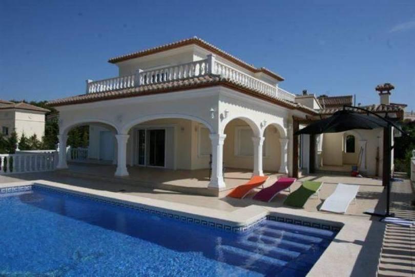 Javea-Xabia,Alicante,España,5 Bedrooms Bedrooms,3 BathroomsBathrooms,Chalets,17325