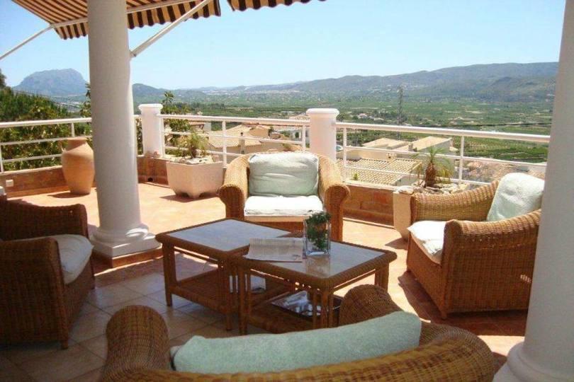 Sanet y Negrals,Alicante,España,3 Bedrooms Bedrooms,3 BathroomsBathrooms,Chalets,17327