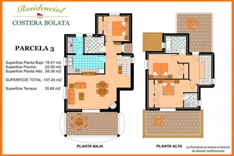 Tormos,Alicante,España,3 Bedrooms Bedrooms,1 BañoBathrooms,Chalets,17344