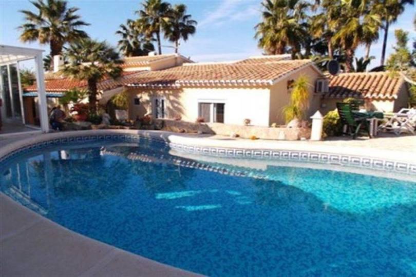 Dénia,Alicante,España,3 Bedrooms Bedrooms,2 BathroomsBathrooms,Chalets,17466