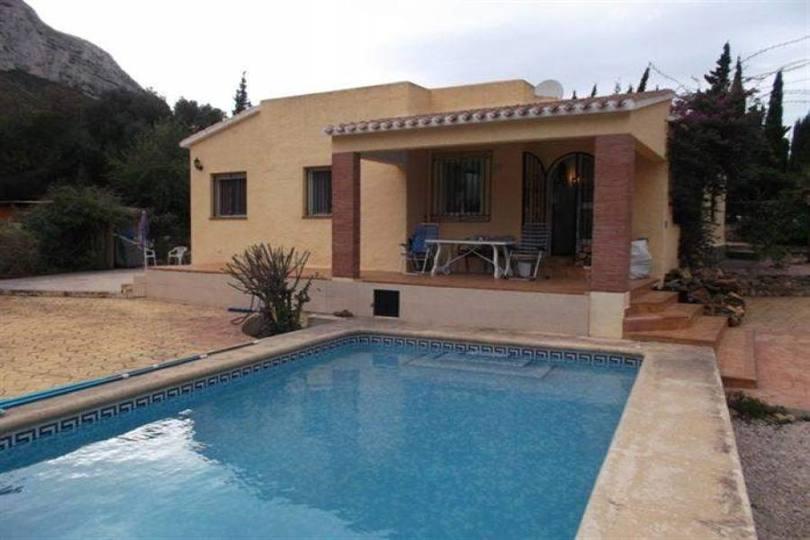 Dénia,Alicante,España,3 Bedrooms Bedrooms,2 BathroomsBathrooms,Chalets,17478