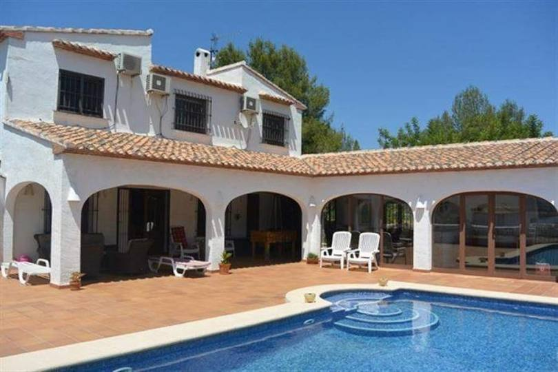 Pego,Alicante,España,4 Bedrooms Bedrooms,4 BathroomsBathrooms,Chalets,17537
