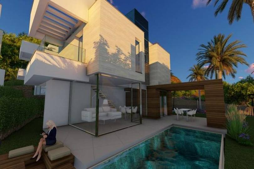 Polop,Alicante,España,4 Bedrooms Bedrooms,2 BathroomsBathrooms,Chalets,17549
