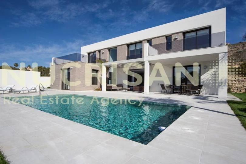 Finestrat,Alicante,España,4 Bedrooms Bedrooms,4 BathroomsBathrooms,Chalets,17585