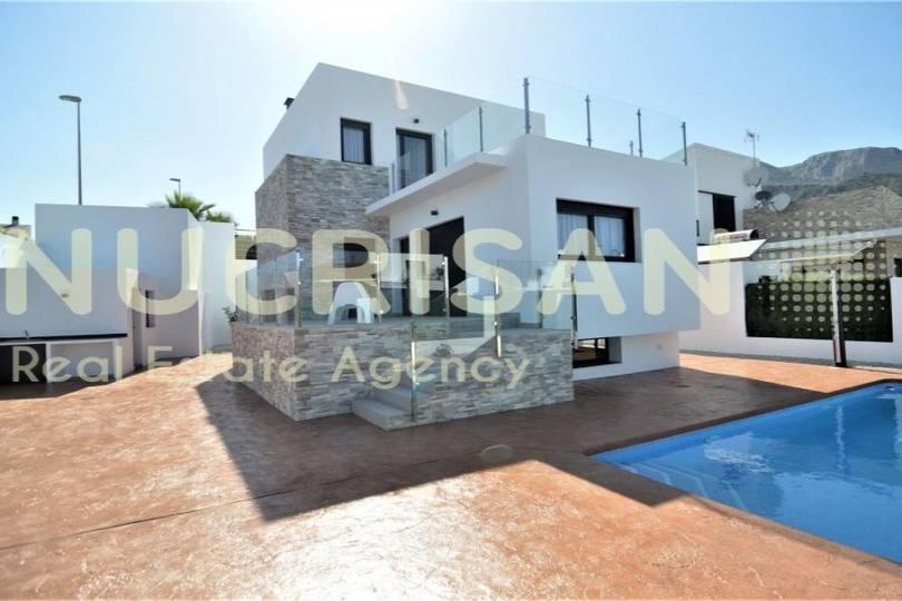Polop,Alicante,España,3 Bedrooms Bedrooms,3 BathroomsBathrooms,Chalets,17740