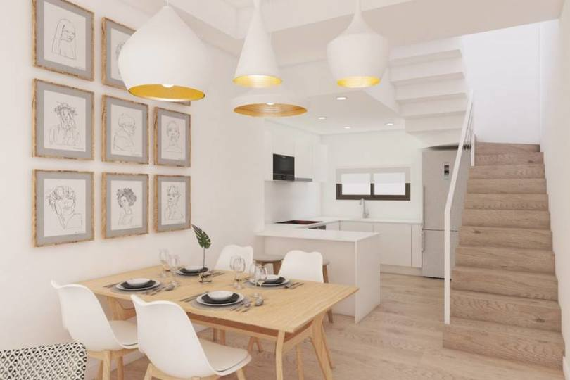 Torrevieja,Alicante,España,3 Bedrooms Bedrooms,2 BathroomsBathrooms,Chalets,17909