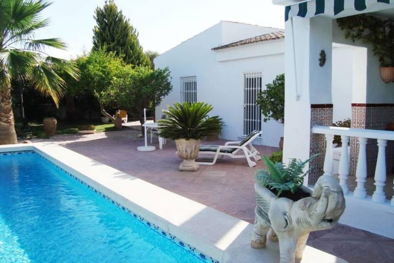 San Vicente del Raspeig,Alicante,España,3 Bedrooms Bedrooms,2 BathroomsBathrooms,Chalets,18031
