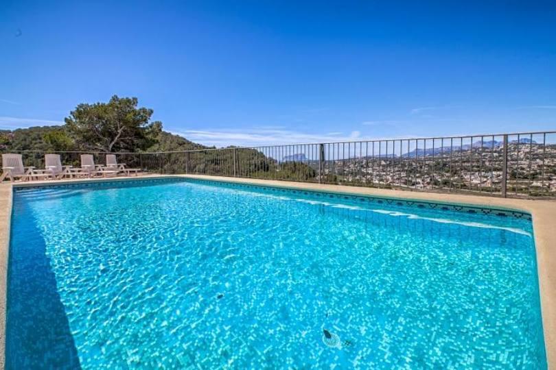 Moraira,Alicante,España,4 Bedrooms Bedrooms,3 BathroomsBathrooms,Chalets,18081