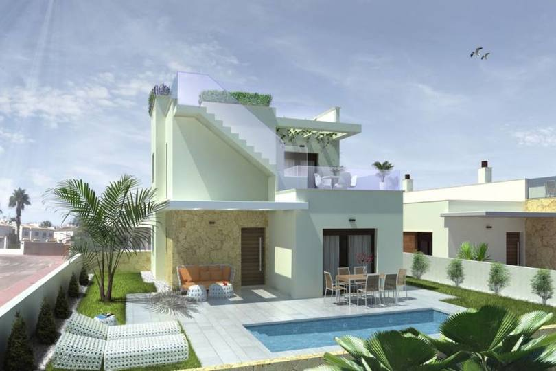 Rojales,Alicante,España,3 Bedrooms Bedrooms,2 BathroomsBathrooms,Chalets,19011