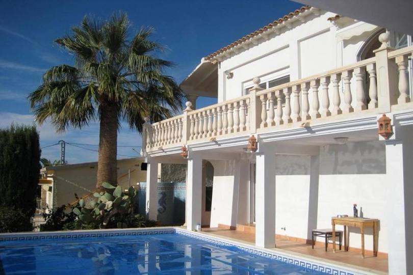 el Campello,Alicante,España,5 Bedrooms Bedrooms,4 BathroomsBathrooms,Chalets,19171