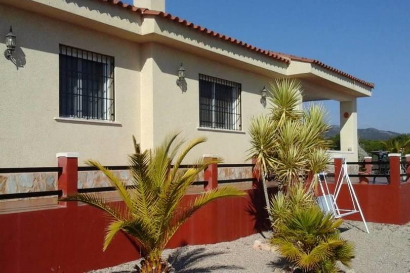 Sax,Alicante,España,3 Bedrooms Bedrooms,2 BathroomsBathrooms,Chalets,19176