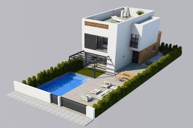 Benijófar,Alicante,España,2 Bedrooms Bedrooms,2 BathroomsBathrooms,Chalets,19222