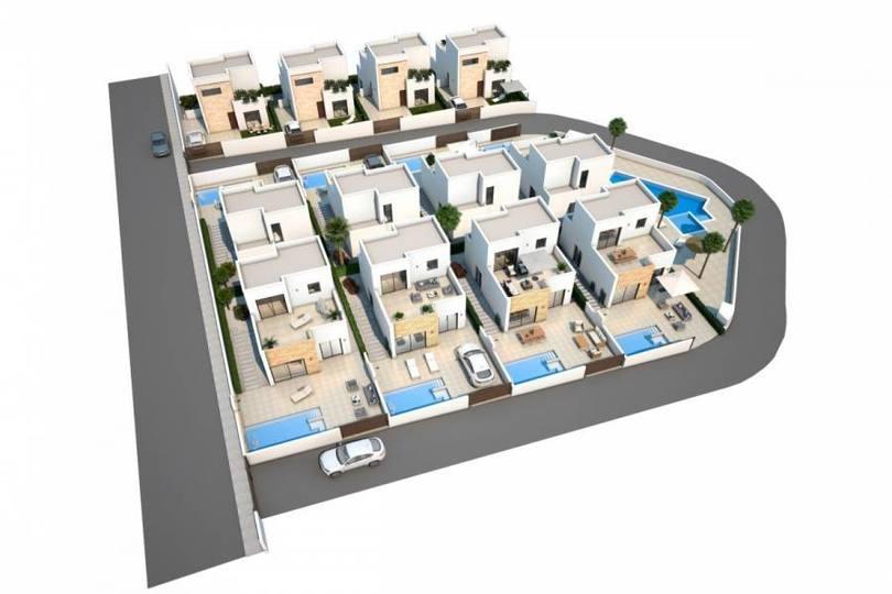 Ciudad Quesada,Alicante,España,3 Bedrooms Bedrooms,2 BathroomsBathrooms,Chalets,19341
