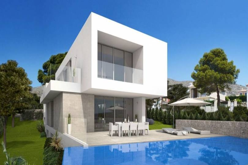 Finestrat,Alicante,España,3 Bedrooms Bedrooms,3 BathroomsBathrooms,Chalets,19451