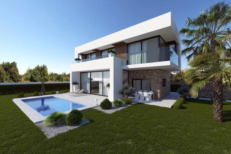Finestrat,Alicante,España,4 Bedrooms Bedrooms,3 BathroomsBathrooms,Chalets,19455