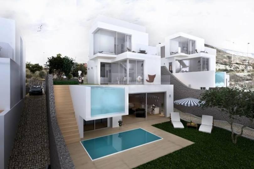 Finestrat,Alicante,España,4 Bedrooms Bedrooms,4 BathroomsBathrooms,Chalets,19462