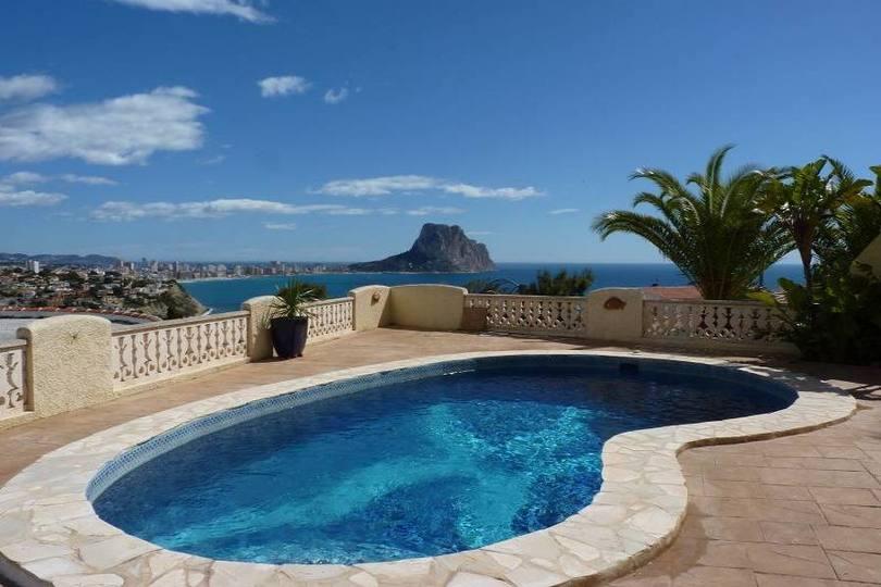 Calpe,Alicante,España,4 Bedrooms Bedrooms,3 BathroomsBathrooms,Chalets,19507