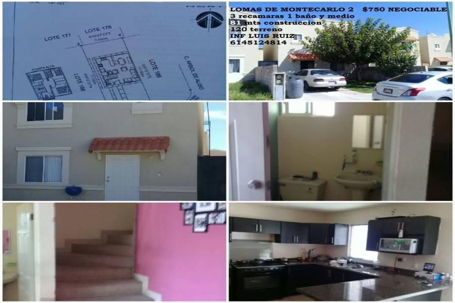 Chihuahua,Chihuahua,México,3 Habitaciones Habitaciones,1 BañoBaños,Casas,RESIDENCIA,2,2896