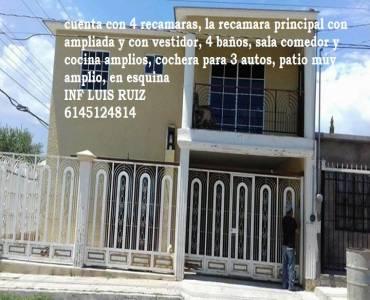 Chihuahua,Chihuahua,México,4 Habitaciones Habitaciones,4 BañosBaños,Casas,2,2904